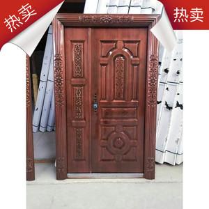 云南昆明 钢制门 防火门 甲级防盗门 烤漆木门 户外门 仿铜门