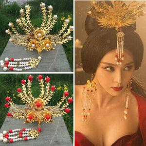 新娘凤凰古装头饰图片
