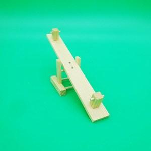 手工作业跷跷板电动小制作小发明diy木制玩具拼装模型科技 风