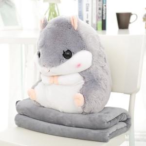 胖倉鼠公仔毛絨玩具可愛大號超軟抱枕老鼠萌女生布偶娃娃生日禮物