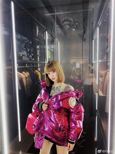 葱头Moncler x Palm Angels FW19秋冬 男女 拼接亮面羽绒服外套