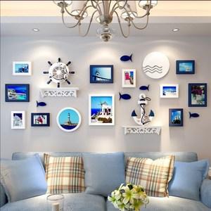 创意走廊照片墙面组合装饰相框过道背景墙壁欧式挂墙客厅楼梯画框图片