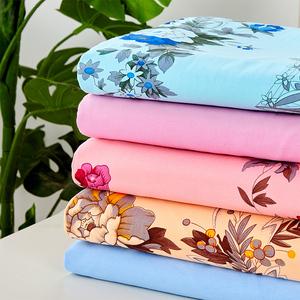 上海老式1.5米國民100全棉的印花加厚老粗布純棉床單單件被單棉布