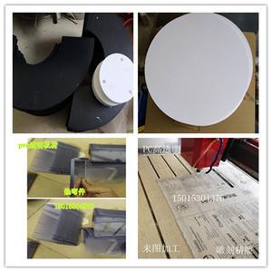 哑白PVC片材加工黑色塑料板pp磨砂雕刻倒角pp?#21672;?#26495;材圆形卷材硬