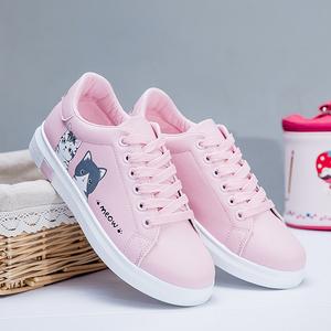 小学生7少女孩子9加绒10中大童11运动鞋15岁板鞋秋冬季跑步小白鞋