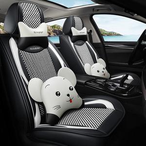 汽車用改裝飾配飾配件車內飾用品可愛卡通女士裝飾品坐墊座椅座套