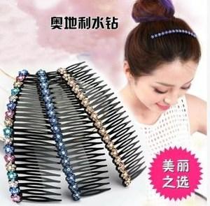 成人梳插防滑刘海淑女别卡碎发头发的夹子夹碎围梳发头箍百搭发卡