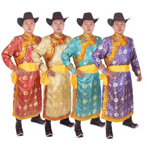 蒙古婚礼礼服图片