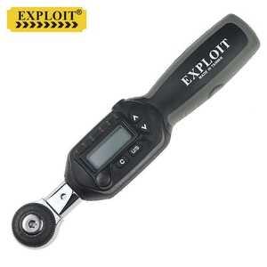 開拓EXPLOIT臺灣制造 1.5-30Nm可換頭數顯扭力扳手 WSC2-030 配38