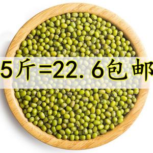 【5斤包邮】新鲜绿豆 农?#26131;?#20135;东北绿豆芽豆笨绿豆发豆芽煮汤散装