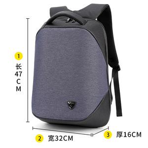 ARCTIC HUNTER男女双肩包多功能商务防盗电脑背包15USB充电旅行包