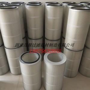喷砂机抛丸机3566/3266配件除尘滤芯过滤筒聚酯纤维无纺布