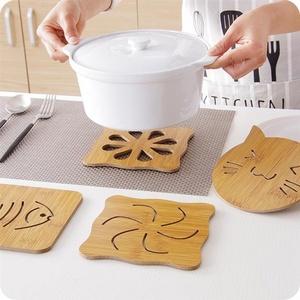 木质餐垫隔热垫创意餐桌垫盘子垫家用防烫垫锅垫砂锅垫碗垫杯垫子