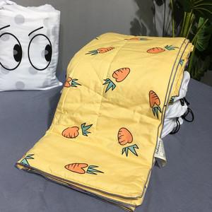 热卖中的被子幼儿夏凉被幼儿园专用儿童卡通小汽车空调被自然醒空