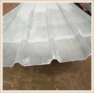 防雨屋頂車棚瓦透明防水耐熱塑料瓦片塑膠家用平瓦槽加厚廠房整卷