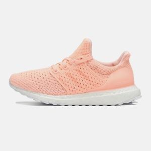 阿迪達斯女鞋跑步鞋2019夏季BOOST休閑橙色運動鞋子官網正品官方