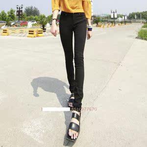 高弹力女裤长裤