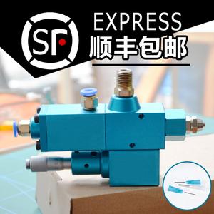 精密精准注油器定量阀可调回吸黄油机控制阀油脂锂基脂加注阀