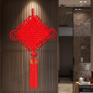 中國結掛件客廳大號福字招財辟邪鎮宅平安節同心結小玄關室內裝飾