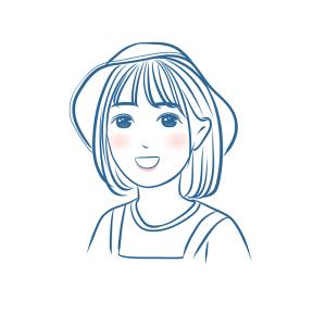 定制手绘自画像q版漫画v漫画照片形象卡通头像人物双人线条转手绘日文和日动漫图片