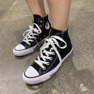 美国代购Converse/匡威 经典高帮男女同款休闲帆布鞋直*邮