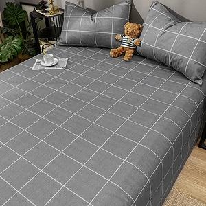 100純棉床單單件全棉簡約北歐風學生宿舍床單人被單子雙人床夏季