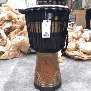 keland凯朗非洲鼓爆款黑金大神入门鼓专业鼓手鼓9寸10寸11寸