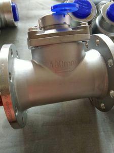 304不锈钢水表 不锈钢法兰水表 旋翼式可拆式水表 DN50 65 80 100