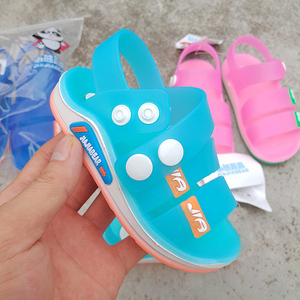 新款男女童凉鞋儿童沙滩鞋学生韩版凉鞋宝宝中小童软底防滑凉鞋子