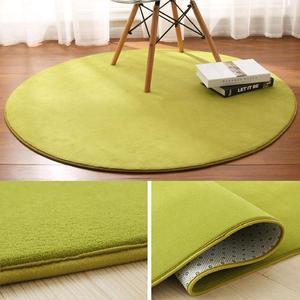 裕褀門廳兒童圓形地毯腳底圓型園毯酒店寫字樓圓毯桌子底墊座椅轉