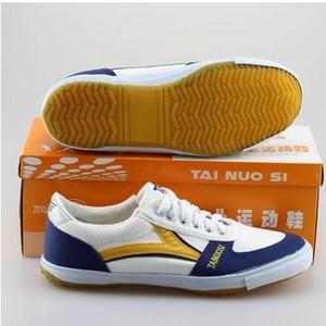正品泰諾斯乒乓球鞋男女兒童運動鞋耐磨專業女童男童防滑乒乓球鞋