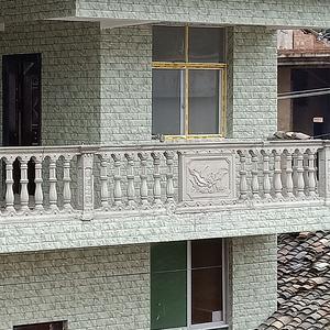 新款加厚水泥阳台护栏栏杆模具现浇罗马花瓶柱扶手围栏建筑模板