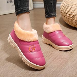 秋冬季棉拖鞋女包跟厚底月子鞋居家居情侣室内防滑保暖毛棉拖鞋男