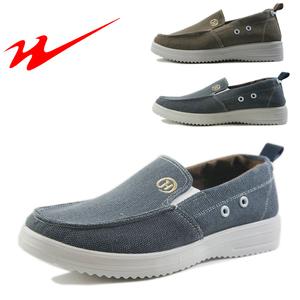 双星男款商务休闲帆布鞋麻布运动鞋透气吸汗帆布轻便生活休闲鞋