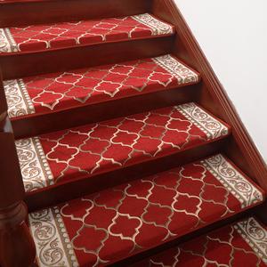 樓梯踏步墊免膠自粘家用實木樓梯墊防滑臺階地毯腳墊滿鋪轉角定制