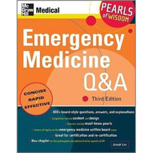 進口原版/Emergency Medicine Q&A: Pearls of Wisdom, Third E//