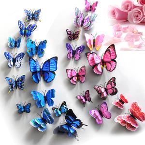 背景蝴蝶贴画