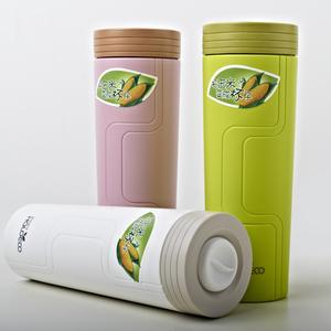 哈樂依可玉米杯 時尚簡約環保便攜隨身杯 密封隨手杯 防漏水杯子