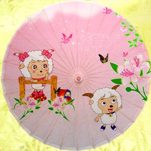 泸州油纸喜洋羊352舞蹈影视儿童拍照走秀装修防晒古典晴雨伞推荐