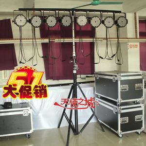 升級版加厚4.5米手搖燈架流動燈光架led帕燈支架婚慶舞台演出設備