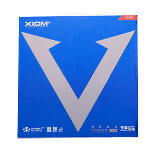 瘋二娘XIOM驕猛藍V白金V唯佳中國VEGA粘性乒乓球膠皮球拍反膠套膠