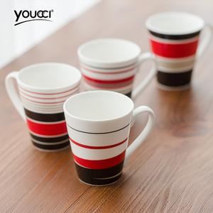 创意陶瓷水杯茶杯套装图片
