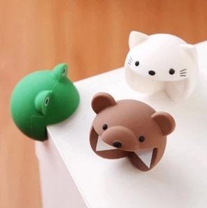 日本卡通动物造型硅胶婴儿防撞角安全软胶可爱桌角保护套加厚护角