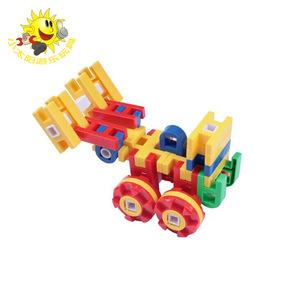 幼儿园拼装拼插百变益智搭h图片仓鼠儿童玩具早教3-7岁女全集贝瓦做带轮的积木男孩大玩具图片