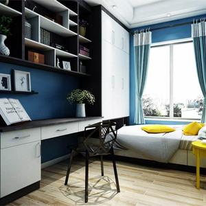 上海榻榻米定制衣柜踏踏米床整体卧室书房儿童房实木家具组合定做图片
