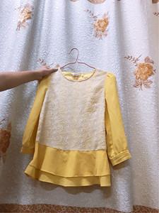 斯濃 韓版罩衫套裝鏤空針織衫女裝套頭低圓領薄款