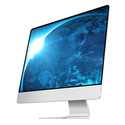 Slim style one computer 20-27 inch i3i5i7 quad core desktop game alone was the host
