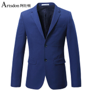 Ashidun new fall leisure suit jacket single west business casual Slim small suit male suit jacket