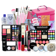 Cosmetics package complete beginners novice students makeup makeup palette box stage beauty tools