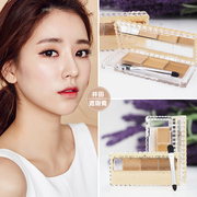 It's very easy to use. Japanese coal field CANMAKE three color Concealer SPF50 black eye socket to mark the speckle cut sister
